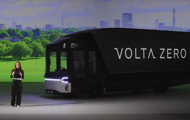 Представлен электрический грузовик Volta Zero